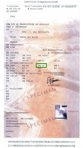 tarif d u0026 39 une carte grise changement de proprietaire